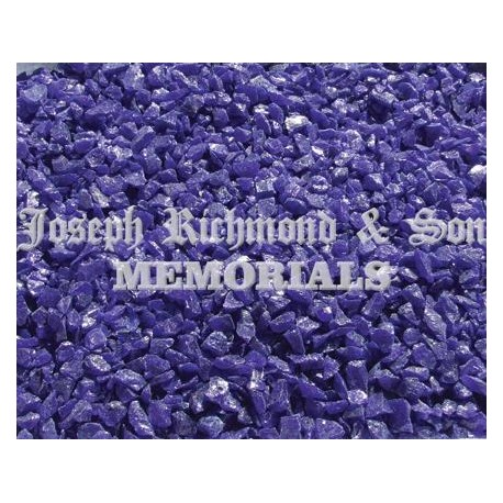 Cobalt Glass Chippings