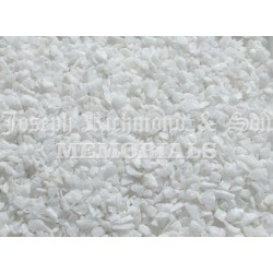 White Glass Chippings
