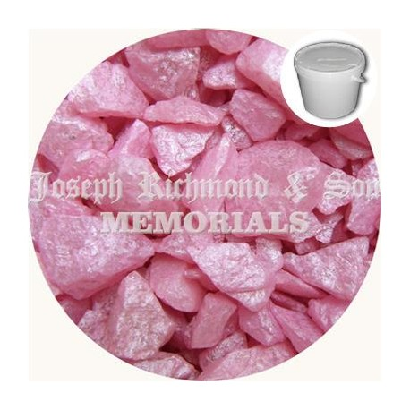 Baby Pink Silk Dyed Chippings