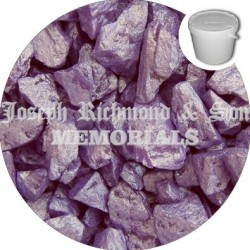 Lavender Silk Dyed Chippings