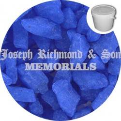Cornflower Blue Dyed Chippings