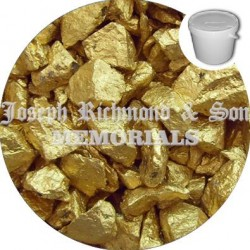 Gold Dyed Chippings