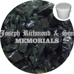 Black Glass Chippings