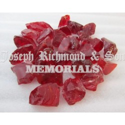 Red Glass Chippings