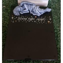 Angel Plaque with Swarovski Crystals