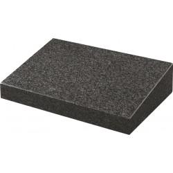 Dark Grey Polished Wedge